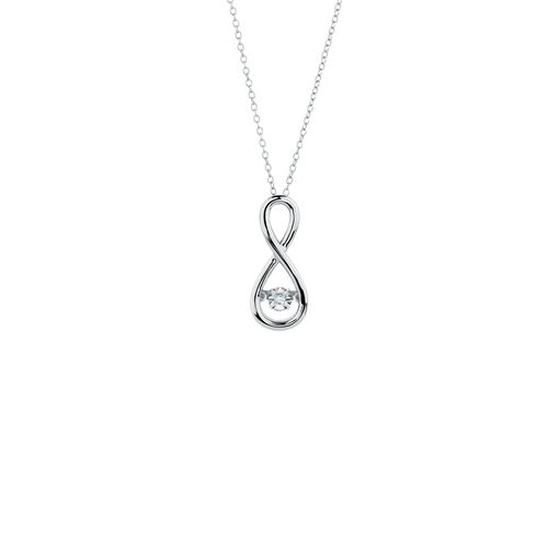 Michael hill everlight collection michaelhill everlight pendant with a diamond in sterling silver mozeypictures Choice Image