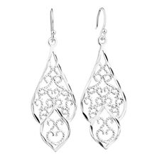 silver climber sterling jewelry cz ear earrings round