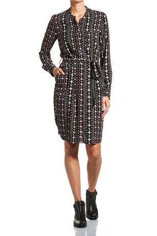 Ditsy Geo Dress