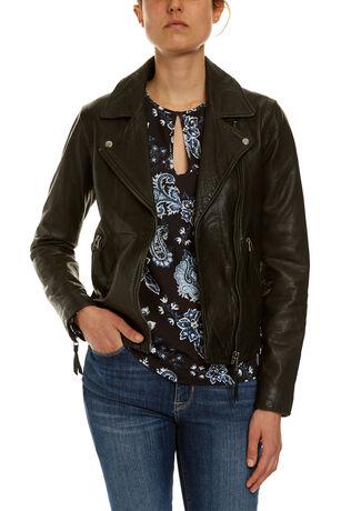 The Leather Biker Jacket