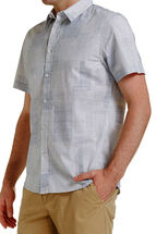 Short Sleeve Tapered Henry Shirt