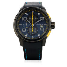 Men's Chronograph Watch in Stainless Steel and Resin