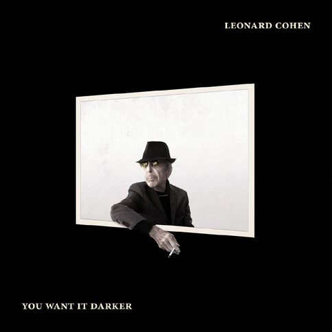 You Want It Darker CD by Leonard Cohen 1Disc