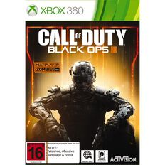 Xbox360 Call of Duty Black Ops 3