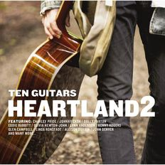 Ten Guitars Heartland Volume 2 CD by Various Artists 2Disc