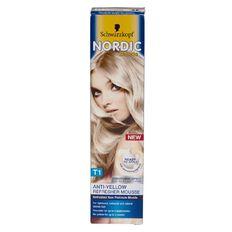 Schwarzkopf Nordic Blonde T1 Refresher Mousse