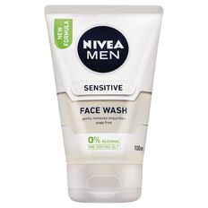 Nivea For Men Sensitive Face Wash 100ml
