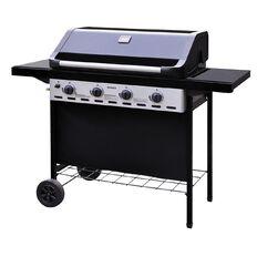 Necessities Brand Monza 4 Burner BBQ