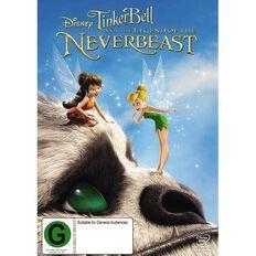 Tinker Bell Legend of the Neverbeast DVD 1Disc