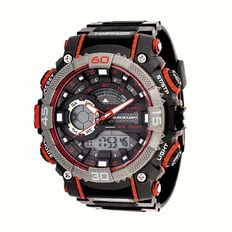 Dunlop Men's Watch Black/Red