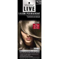 Schwarzkopf LIVE Salon Perm Medium Ash Blonde 7-1