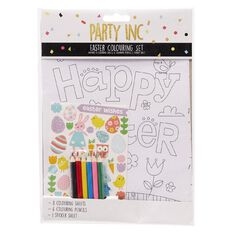 Party Inc Easter Colouring Set