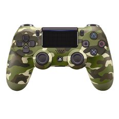 PS4 DualShock 4 Green Camo
