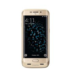Mophie Juice Pack Battery Case for Galaxy S6 Edge Gold