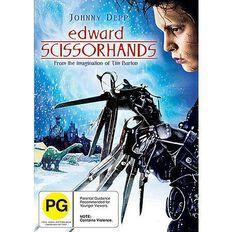 Edward Scissorhands DVD 1Disc