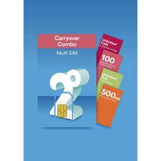 2degrees Carryover Combo SIM