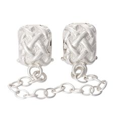 Ane Si Dora Sterling Silver Safety Chain Charm
