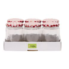 Necessities Brand Preserving Jar 500ml 6 Pack