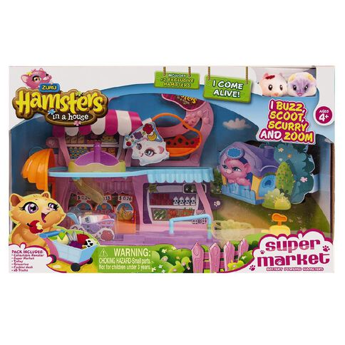 Zuru Hamster in a House Supermarket Set 2 Hamster Exclusive