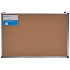 Deskwise Aluminium Cork Board 600mm x 900mm