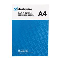Deskwise Photocopy Paper Ream A4 White 80gsm