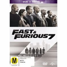 Fast and Furious 7 DVD 1Disc
