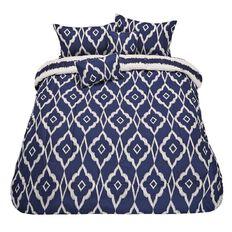 Living & Co Comforter Set Noir Hamptons 5 Piece