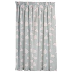 Kids Napping Curtains Cloud Sky Blockout