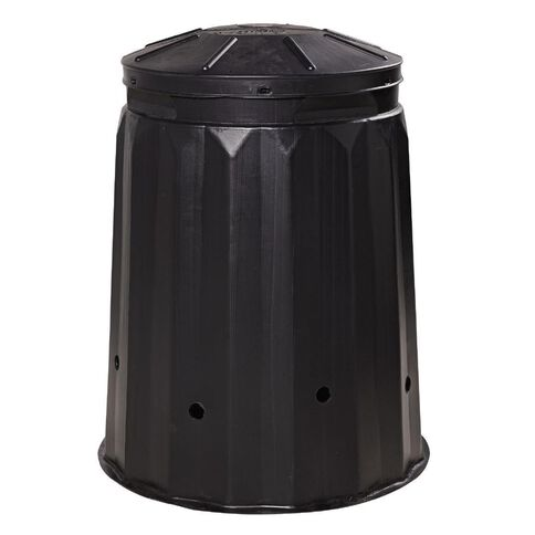 Round Compost Bin with Lid 240L