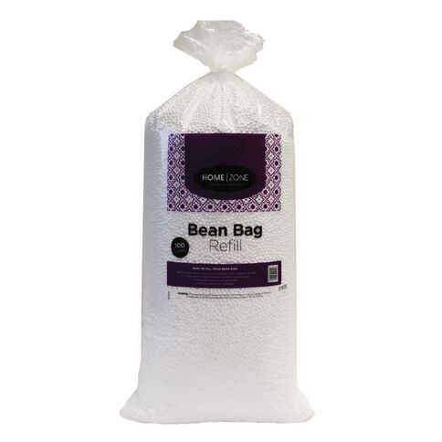Home Zone Poly Bean Bag Refill 100L