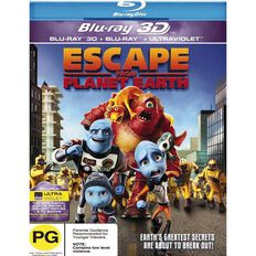 Escape From Planet Earth Blu-ray + 3D Blu-ray 1Disc