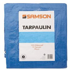 Samson Tarpaulin Blue 80gsm 10ft x 12ft