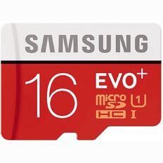 Samsung EVO Plus Micro SD with Adaptor 16GB