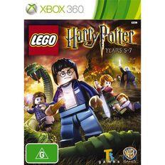 Xbox360 LEGO Harry Potter Years 5-7