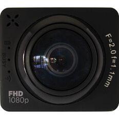 3-SIXT Full HD 360 Deg Wi-Fi Sports Action Camera 1080P Black