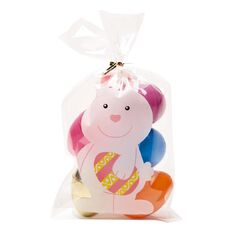Party Inc Easter Cello Bags 23cm x 12.8cm 10 Pack