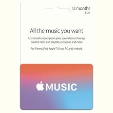 Apple Music 12 Month