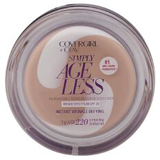 Covergirl +Olay SAgeless Wrinkle Defying Foundation Crmy Natural 220 12g