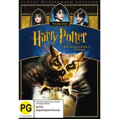 Harry Potter And The Philosophers Stone DVD 1Disc