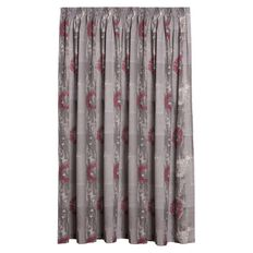 Living & Co Curtains Echo Ruby