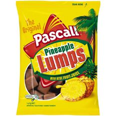 Pascall Pineapple Lumps Family Pack 140g