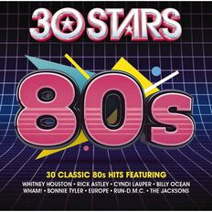 30 Stars 80s CD by Various Artists 2Disc