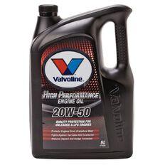 Valvoline High Performance Engine Oil 20W-50 5L