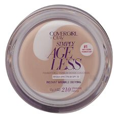 Covergirl +Olay Simply Ageless Wrinkle Defying Foundation Classic Ivory
