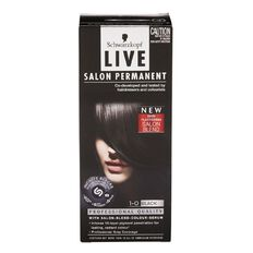 Schwarzkopf Live Salon Permanent 1-0 Black