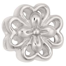 Ane Si Dora Sterling Silver Cutout Flower Charm