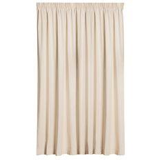 Necessities Brand Curtains Calico Natural Medium