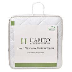 Habito Down Alternative Mattress Topper