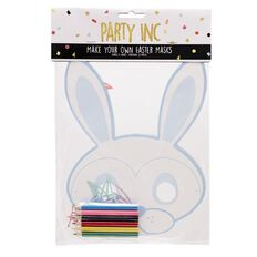 Party Inc Easter Make Your Own Masks 4 Pack