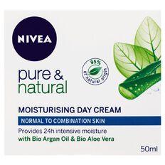 Nivea Pure & Natural Normal Combination Skin Day Cream 50ml